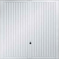 Hormann Series 2000 steel up and over garage doors Style 2103 Caxton